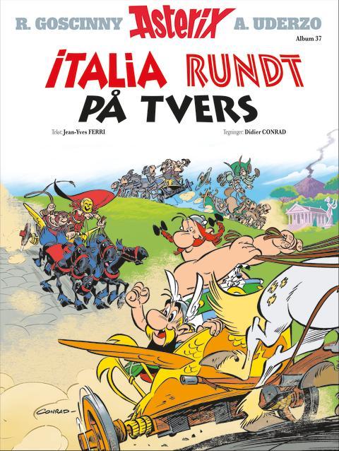 Nytt album. ASTERIX – Italia rundt på tvers!
