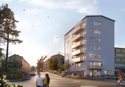 Forsen projektleder nya hyresbostäder för HSB Stockholm