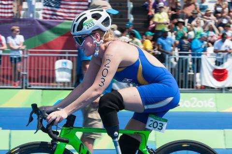 Shahrzad Kiavash Paralympics Rio de Janeiro 2016