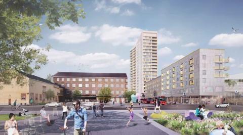 Kevius (M): 480 nya bostäder till Telefonplan