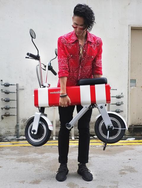 Stort kulere moped skal du lete lenge etter!
