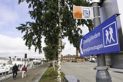 Sommarens vandrings- och cykelnyhet – Tavelsjöleden startar i Umeå centrum