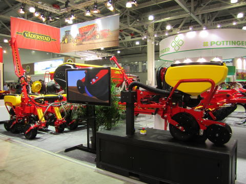 Tempo at Agrosalon Moscow October 2012