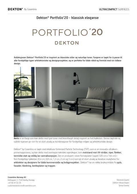 Dekton Portfolio'20