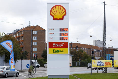 Shell servicestation