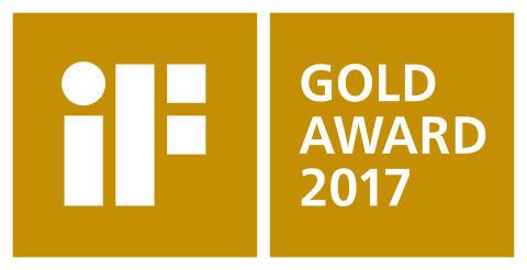 iF Gold Award 2017 gold
