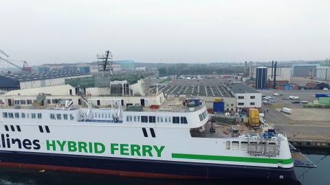 """Neue Hybrid Fähren für Scandlines - """"Copenhagen"""""""