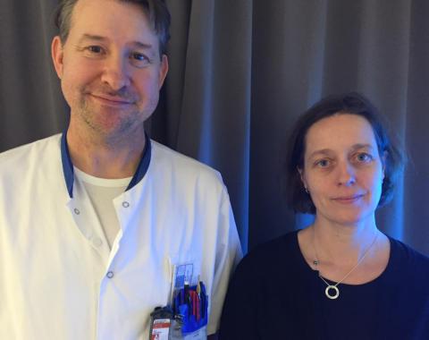 Ulf Isacsson och Kristina Nilsson