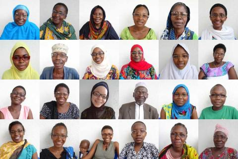 Specsavers mottagare av glasögon i Tanzania