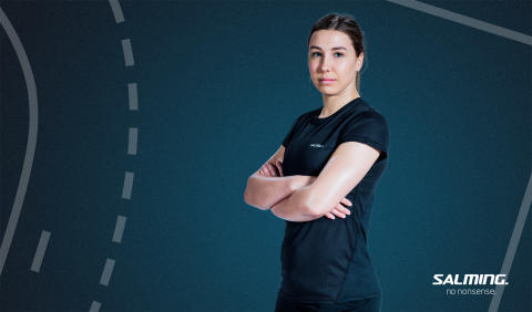 Handball player Anna Lagerquist new Salming athlet