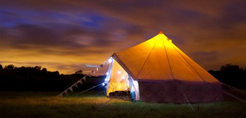 New festival - Glamping to the tunes of opera