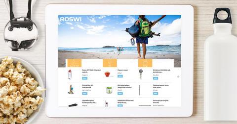Celebration levererar B2B-shop för Roswi