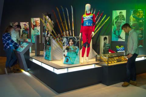 Dronning Sonja åpner Norges Olympiske Museum