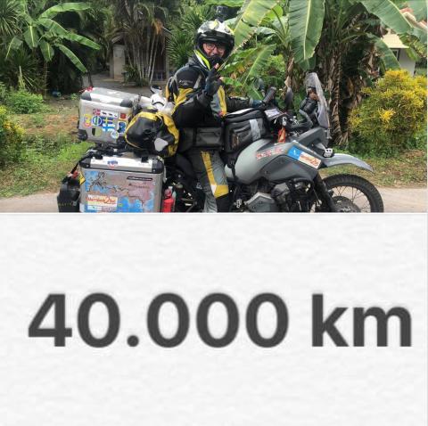 40 000 KM Äventyr på motorcykel