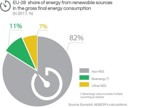 EU gross final energy consumption - total