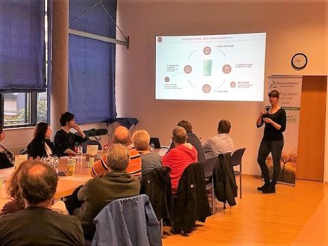 Runder Tisch zur Vorstellung eines Pfandbechersystems  für Stadt und Landkreis Reutlingen