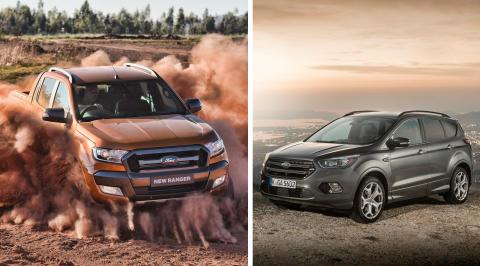 Historisk mai-salg for Fords sportslige SUVer og nyttekjøretøy