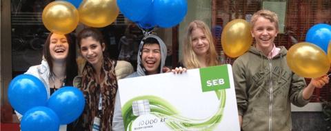 Historiepratarna från Sjöängsskolan tog guld i tävlingen Webbstjärnan
