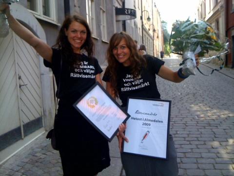 Rättvisemärkt - Hetast och årets varumärke i Almedalen 2009