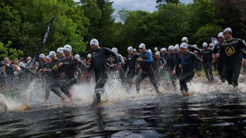 Tri ved søen 2017  - svømmere