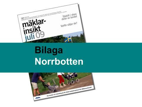 Norrbottens län: Positiv bostadsmarknad i Norrbotten