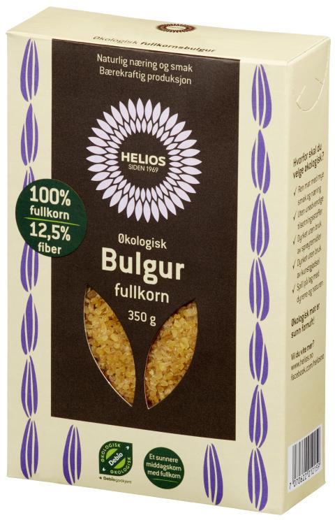 Helios bulgur fullkorn økologisk 350 g
