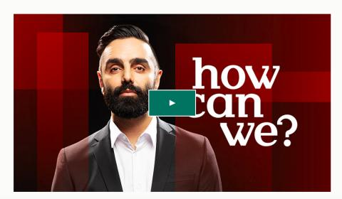 """""""HOW CAN WE?"""" Podcast will be launched global in January 2020 - with NAVID MODIRI"""