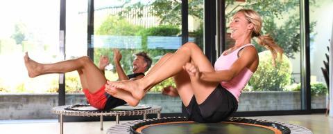 Bellicon®: Jumping-Fitness im Sport Urlaub in Südtirol