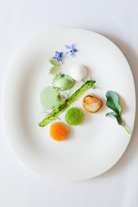 Maträtt Foto hotell Borgholm