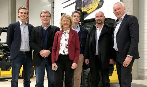 Agenturerna för Hyundai Forklifts och Merlo nu i samma koncern