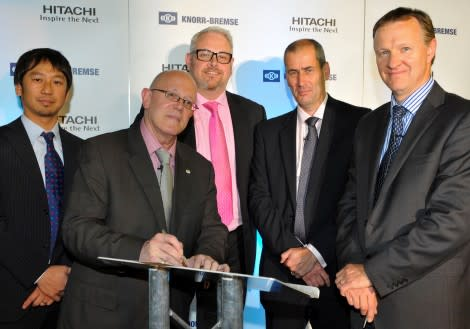 Knorr-Bremse to Equip New UK Hitachi Trains