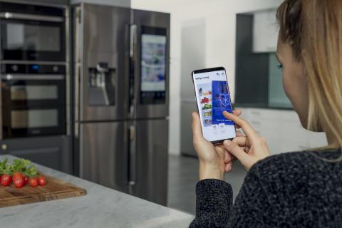 Samsung hjälper singlar hitta kärleken via kylskåpet
