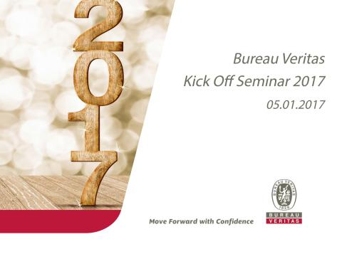 bureau veritas kick off seminar 2017 bureau veritas danmark. Black Bedroom Furniture Sets. Home Design Ideas