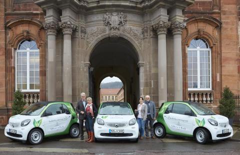 Eine smarte Investition: Villeroy & Boch setzt an den Saarstandorten für Kurzstrecken auf Elektro-Smarts