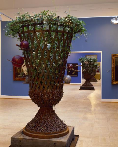 Barockt III – Rock i barocken. Prakturna med doftande jasminer på Statens museum for Kunst i Köpenhamn, år 2002.