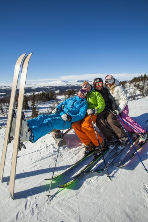 Winter fun Jämtland Härjedalen