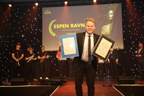 Espen Ravnå (30) er Årets Unge Hoteliér