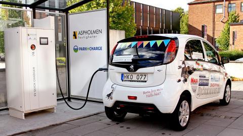 Park & Charge – månadens klimatsmarta företag!
