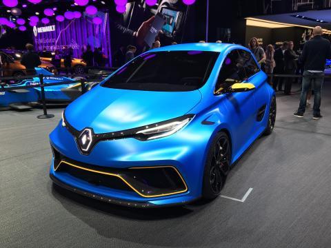Renault Zoe tæver Tesla