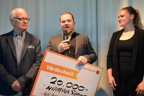 Rekordung plåtslagare belönas med prestigefylld utmärkelse