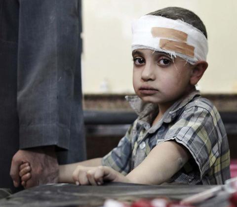 Tre års krig - sjukvården i Syrien har kollapsat