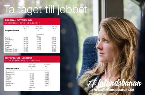 Tidtabell Åsarna-Östersund