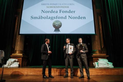 Årets Nordenfond 2017 - Nordea Fonder Småbolagsfond Norden
