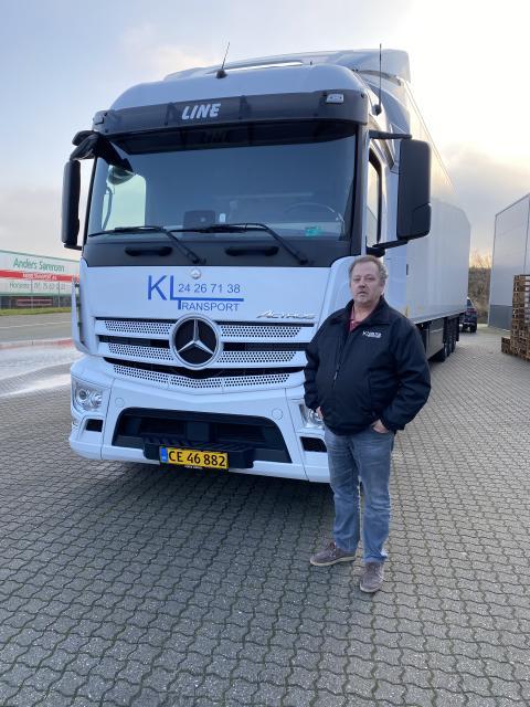 Mercedes-Benz Uptime Knud Jørgen Larsen KL Transport