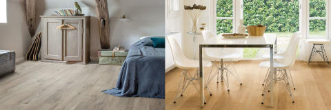 What is the difference between luxurious resilient - Difference between hardwood and laminate ...