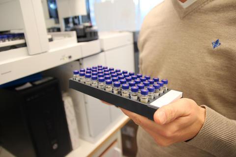 Vitas analyserer 10 000 prøver hver måned