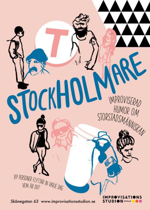 Stockholmare – improviserad humor om storstadsmänniskan