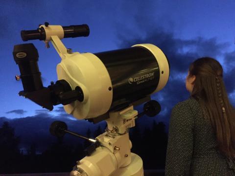 Stjernekikking på Rauland