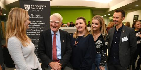 UN Sustainable Development Chairman makes an impact at Northumbria