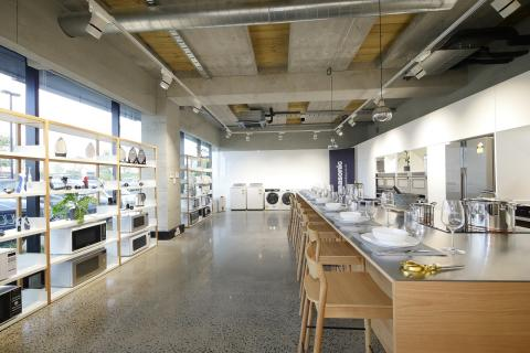 Panasonic New Zealand's New Kitchen Showroom